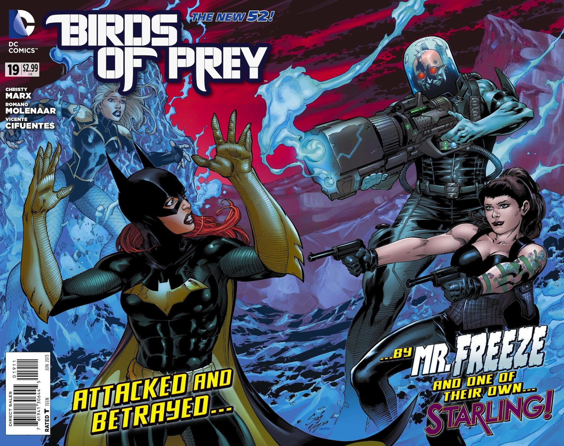 Previews Birds Of Prey 19 Starling A Traitor Also Birds Of Prey Vol 2