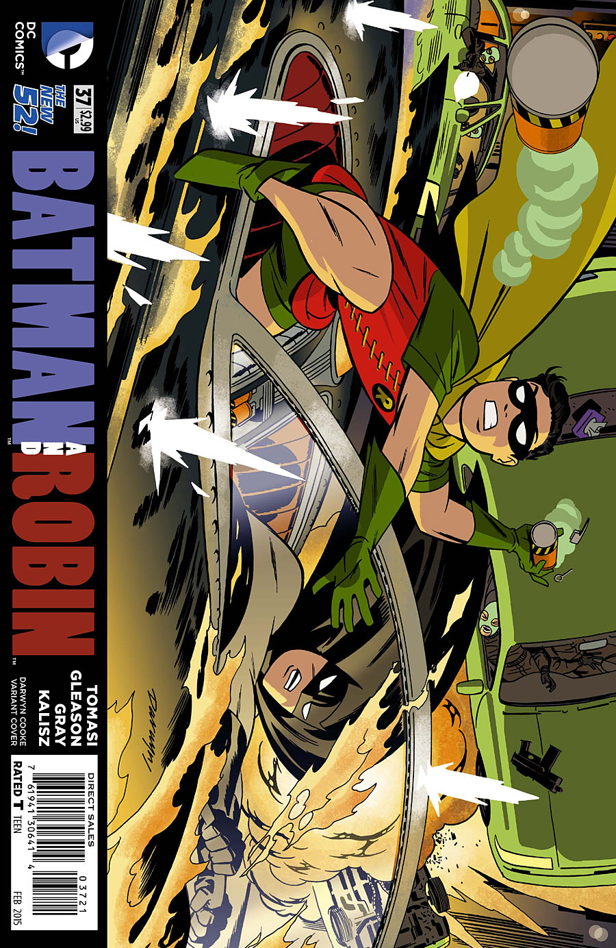 Variant cover by Darwyn Cooke