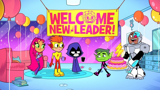 Cartoon Networks Teen Titans GO! new animated feature