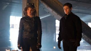 Selina and Bruce on Gotham