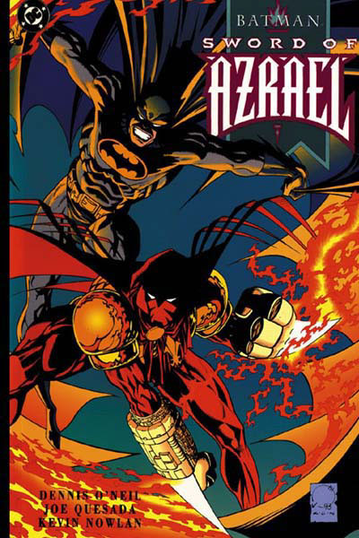The first appearence of Azrael.