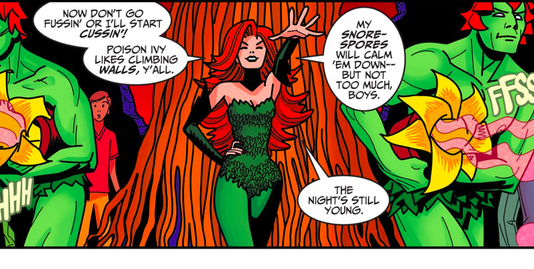 Poison Ivy on the town