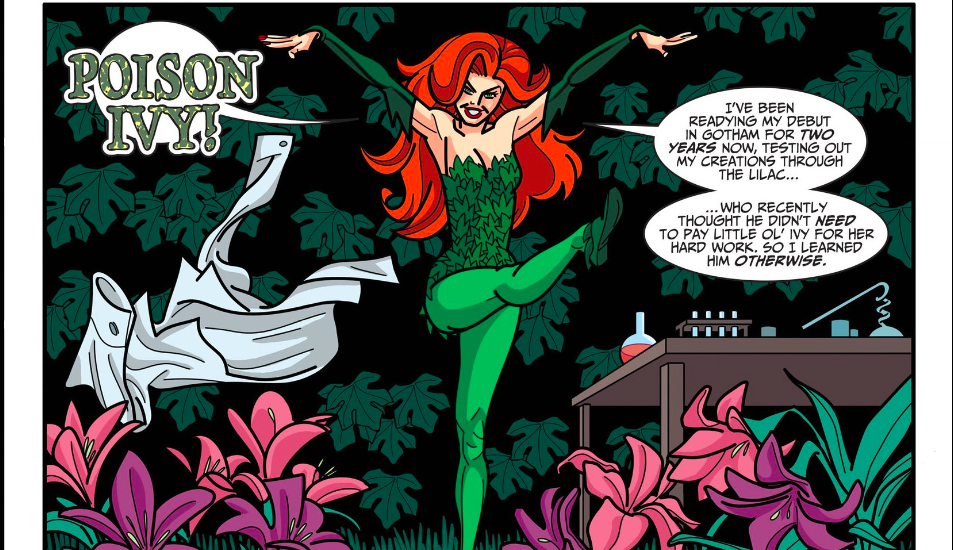 Enter Poison Ivy