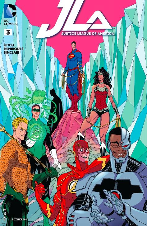 JLA #3 Variant Cover
