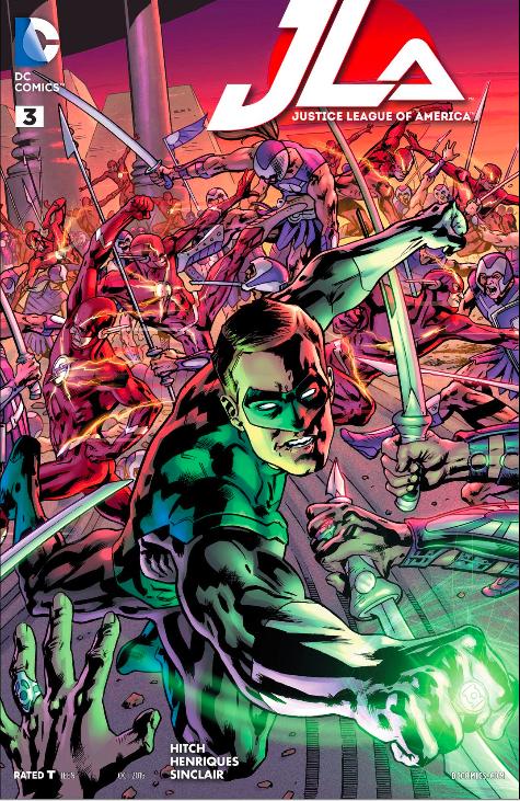 JLA #3 Cover