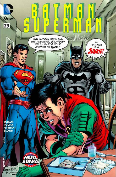 Neal and Josh Adams, variant cover, Feb 2016