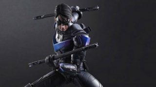 Arkham Knight Nightwing Statue