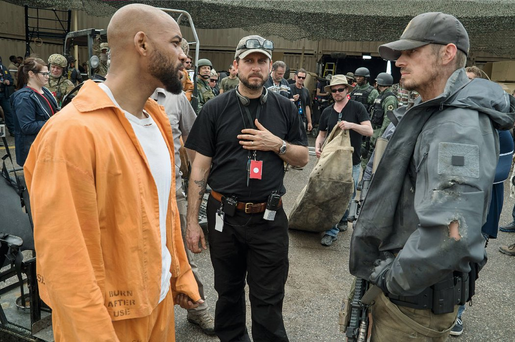 Set photo from Suicide Squad