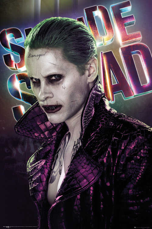 Character poster featuring Jared Leto as the Joker
