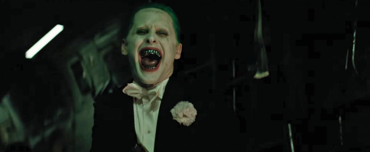 Jared's Joker in Suicide Squad