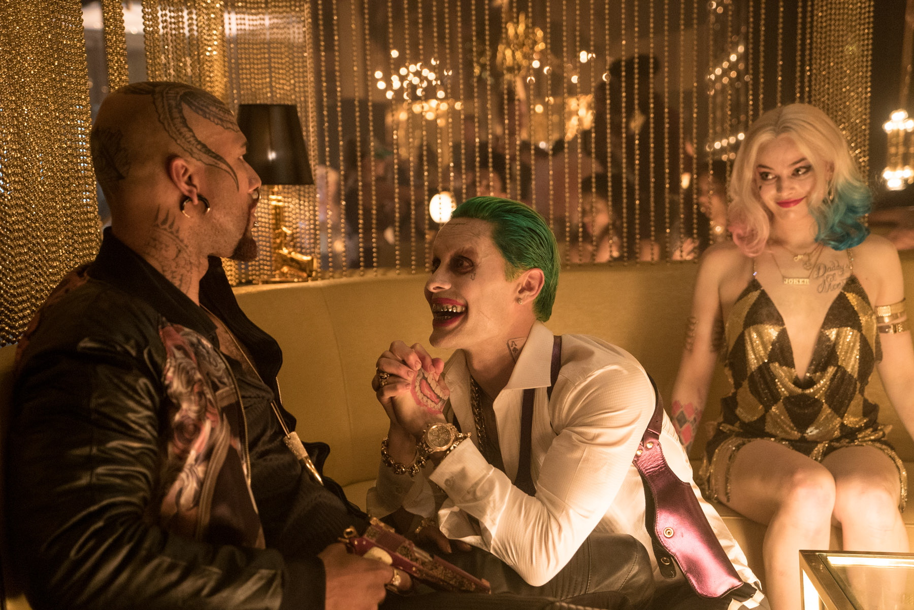 Joker and Harley make a new friend in Suicide Squad