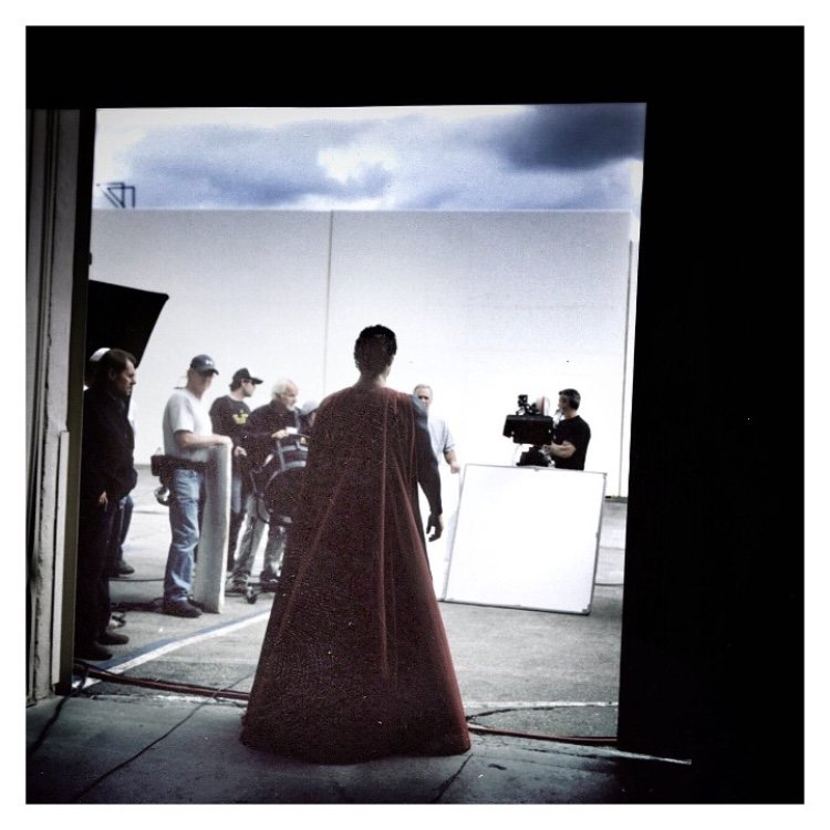 Henry Cavill Costume Test in 'Man of Steel'