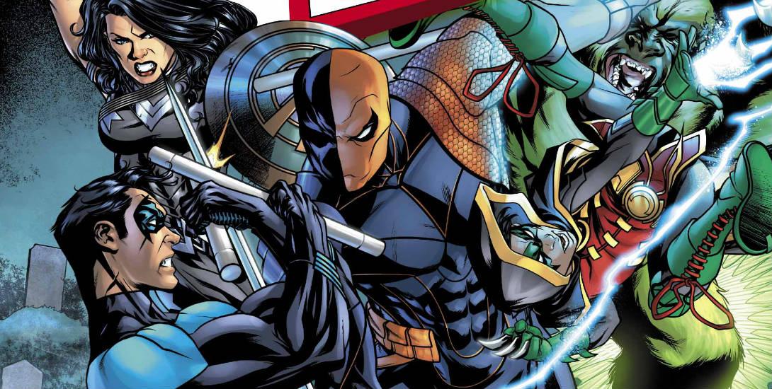 Review: Titans #11 Dark Knight News