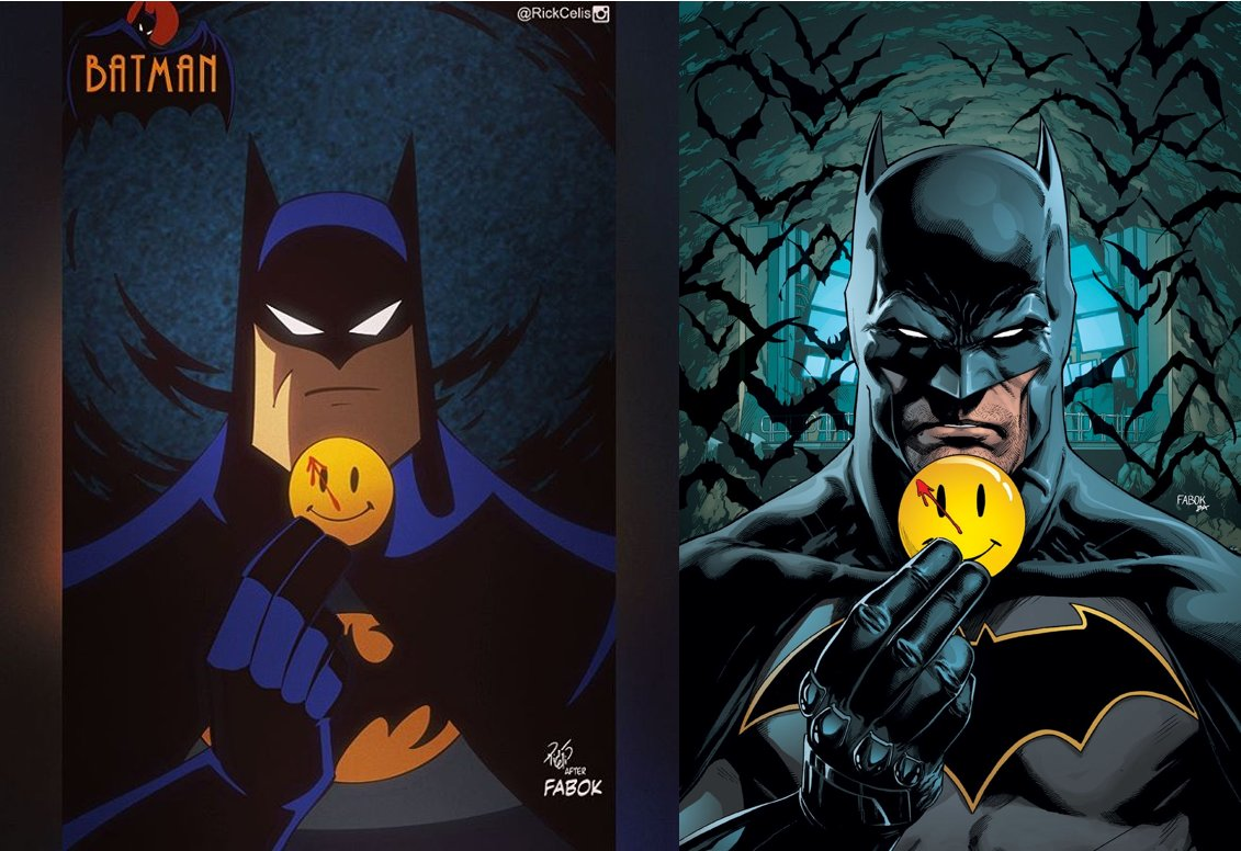 L: Rick Celis after R: Jason Fabok