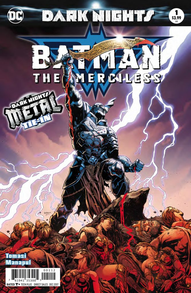 Batman: The Merciless #1 cover