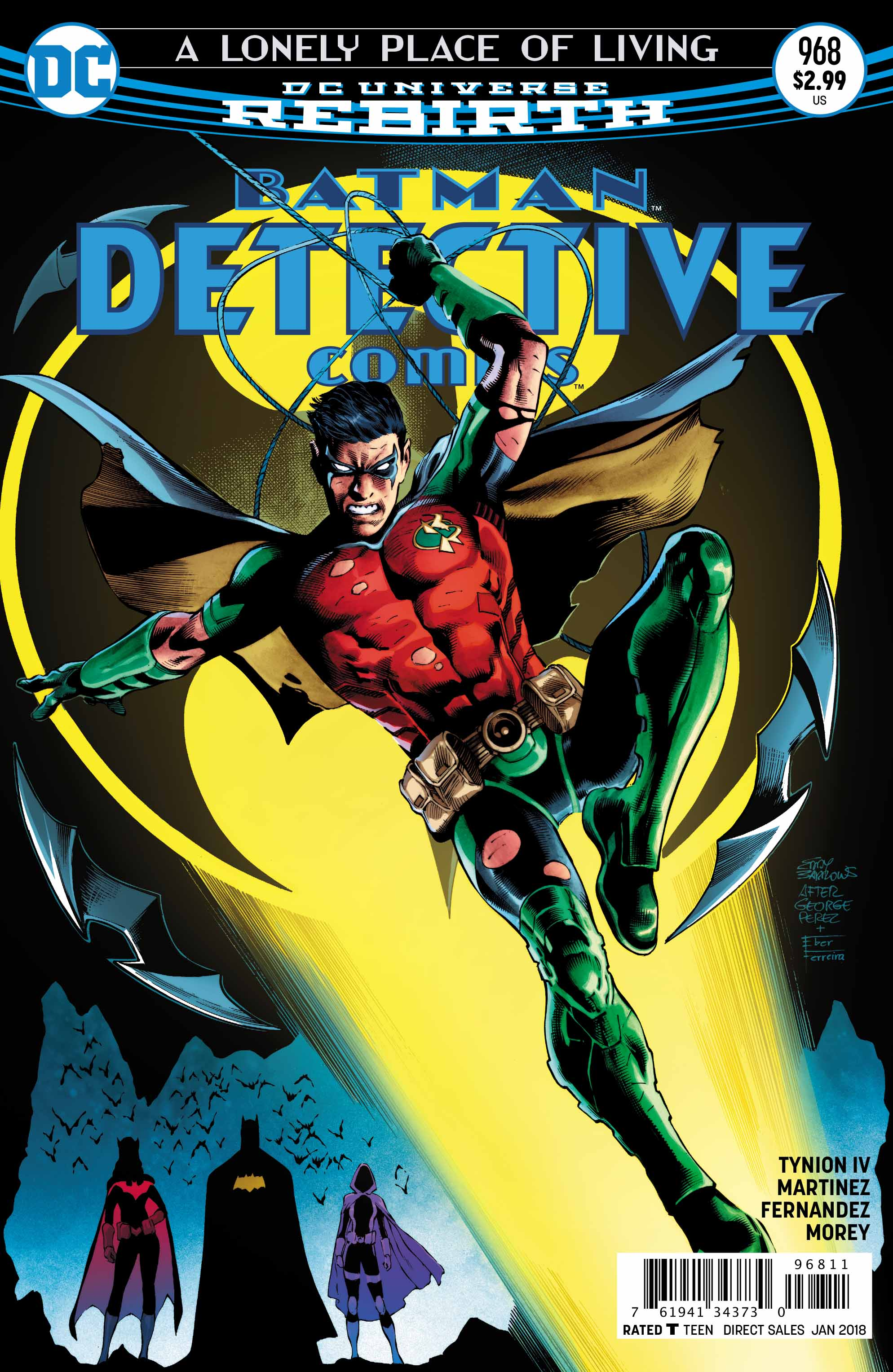 Cover for Detective Comics #968 by Eddy Barrows