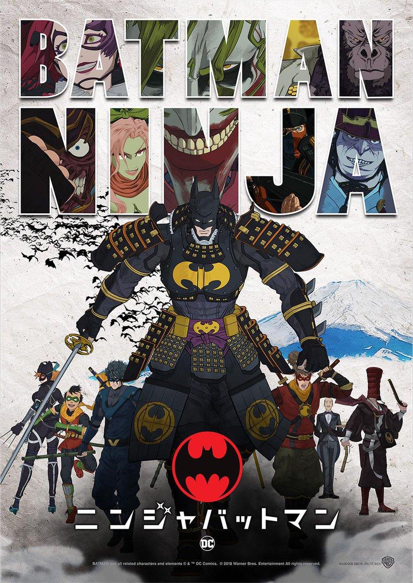 Batman Ninja Poster Reveals A Very Large Cast