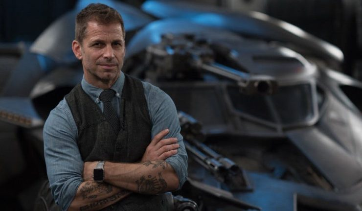Justice Con Zack Snyder Dark Knight News