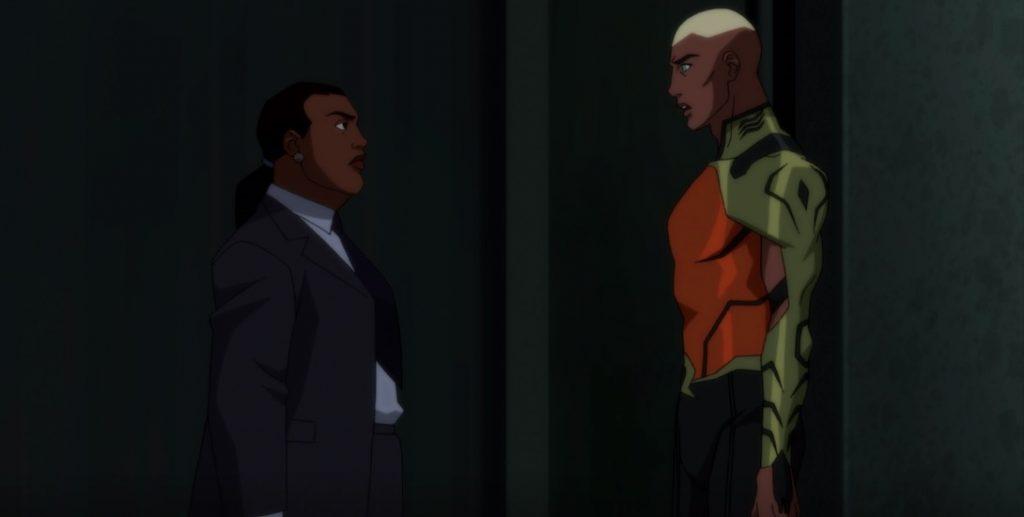 Waller confronts Aquaman