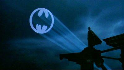 Bat-Signal in 'Batman'