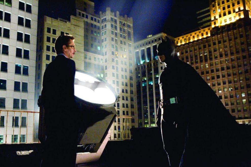 Bat-Signal in 'Batman Begins'