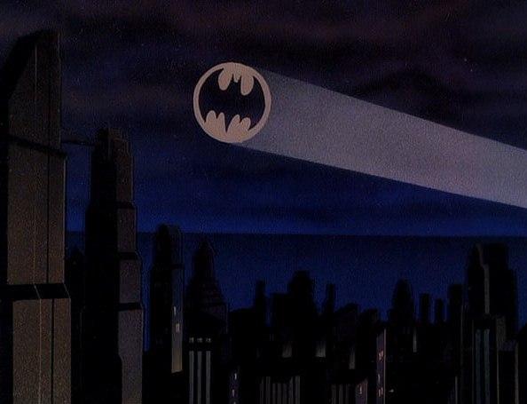 Bat-Signal in 'Batman: TAS'