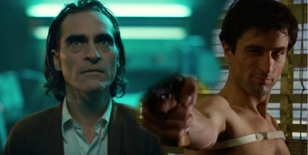 Joker vs Taxi Driver