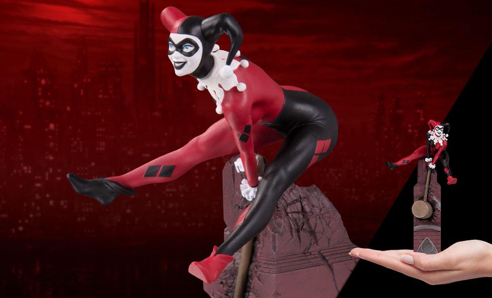 DC's Multi-Part Statue stars everyone's favorite Clown Princess of Crime, Harley Quinn