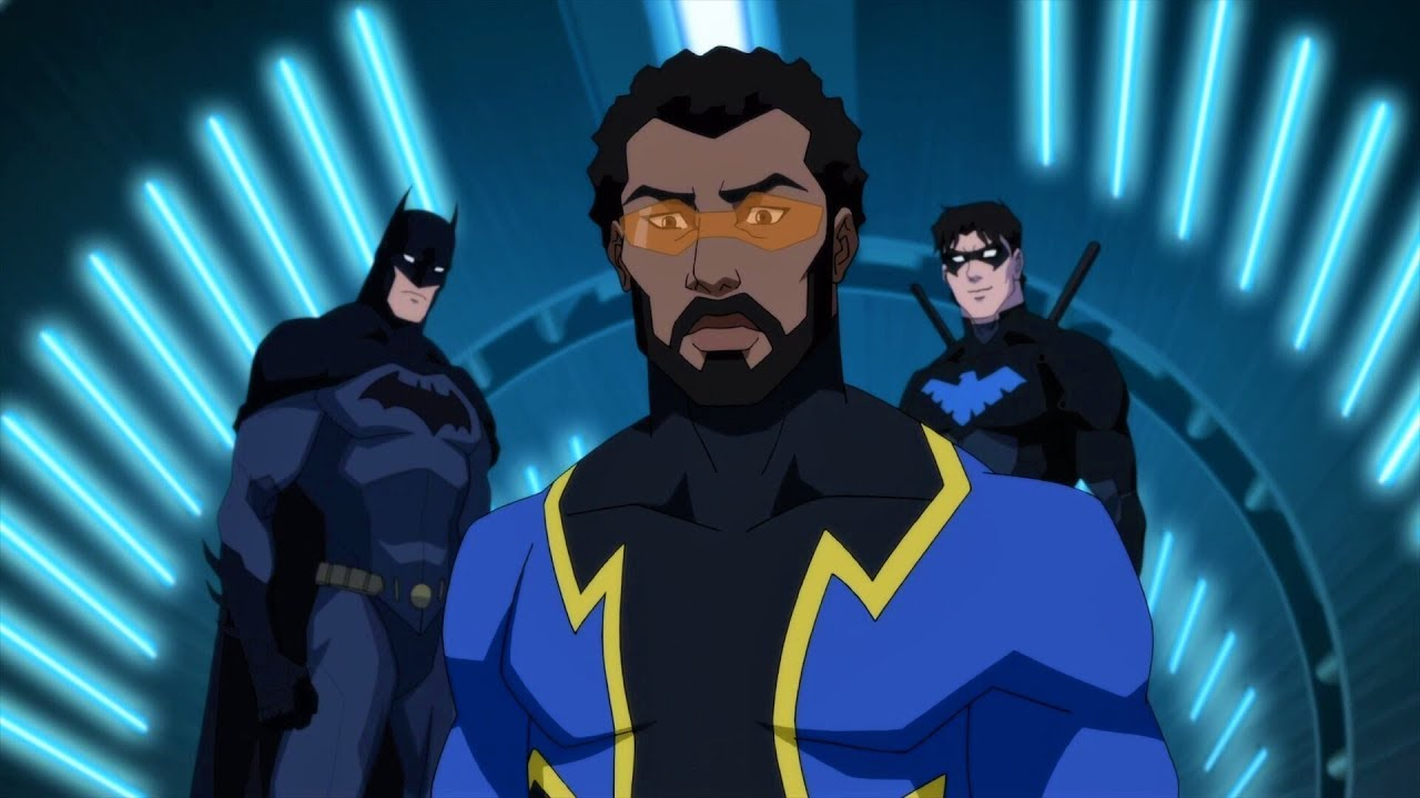 Nevermore an Outsider... Black Lightning is a leader!