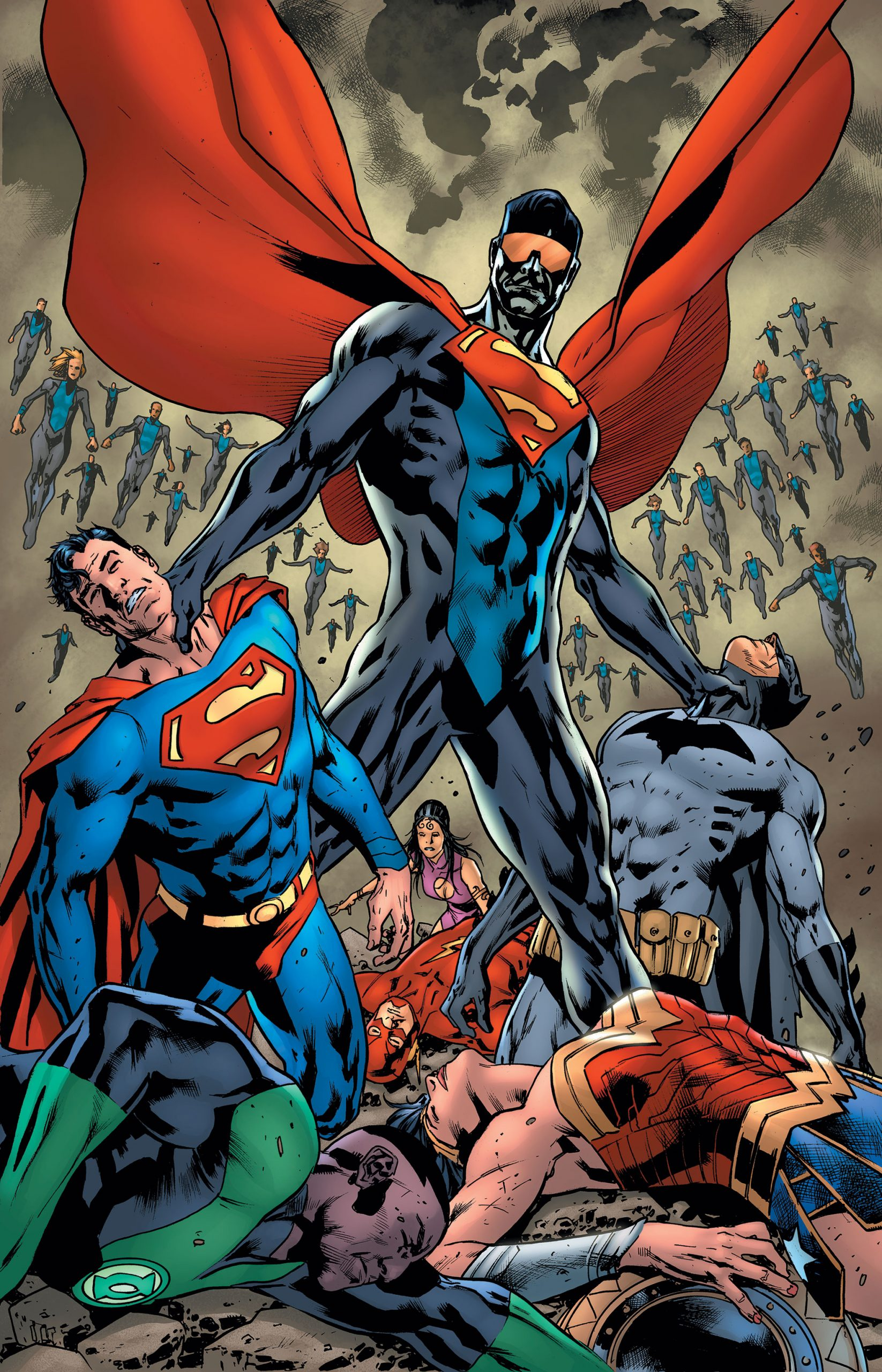 Justice League #41 Cover by Bryan Hitch