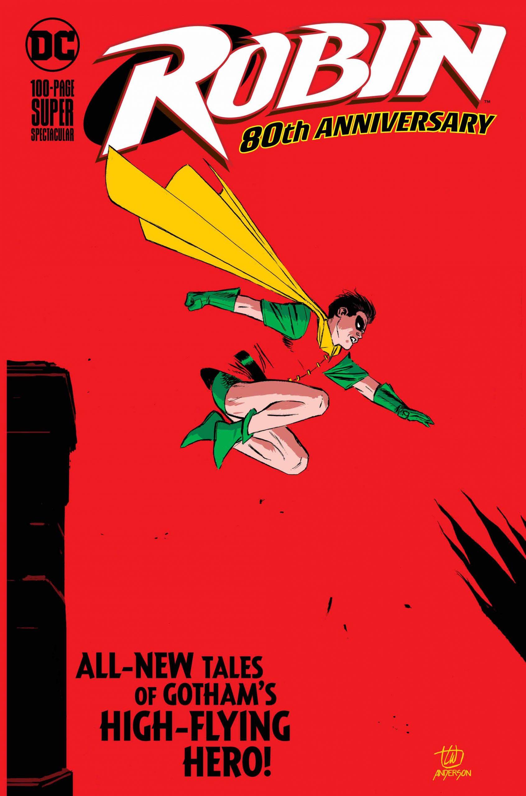 Robin 80th Anniversary by Lee Weeks