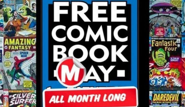 Free Comic Book May