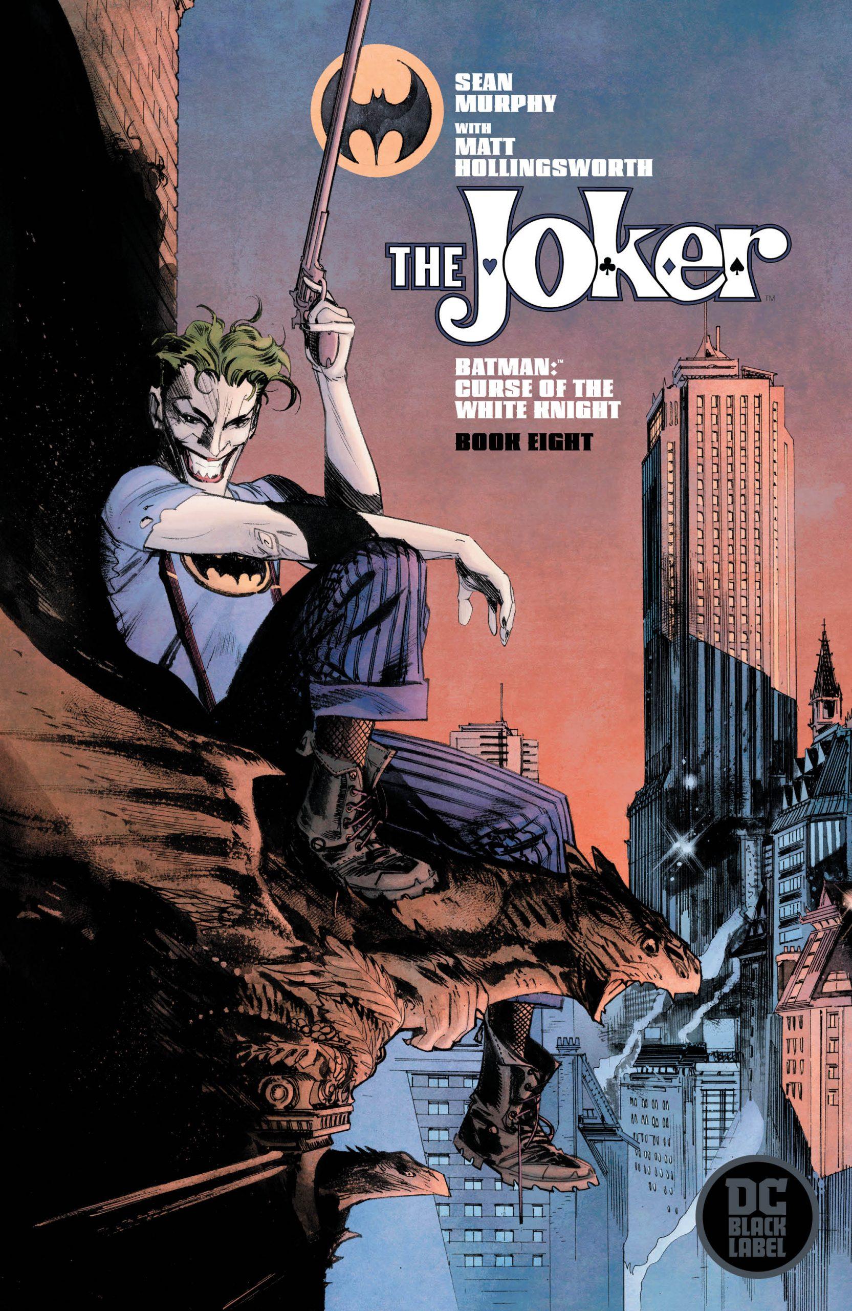 Batman: Curse of The White Knight #8 Alternate Cover