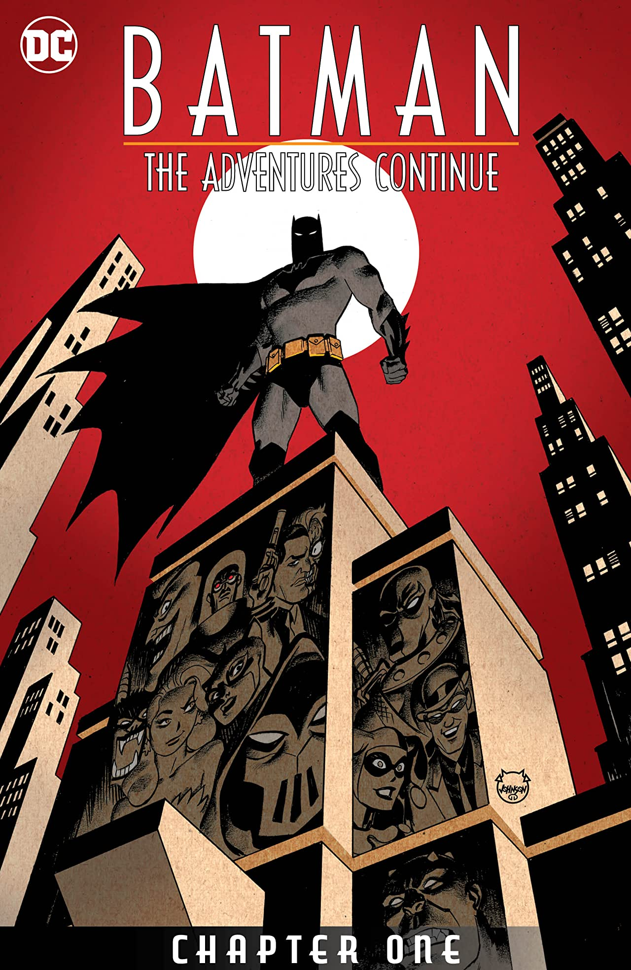 Batman: The Adventures Continue #1.1 Cover