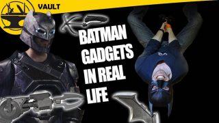 Batman Gadgets made real