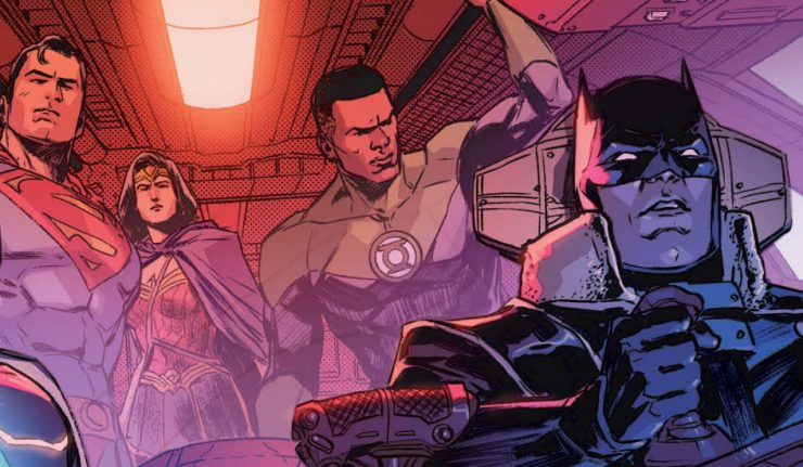 Justice League #44 Featured Image