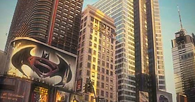 A version of 'Batman Vs. Superman' was teased in Will Smith's 'I Am Legend'