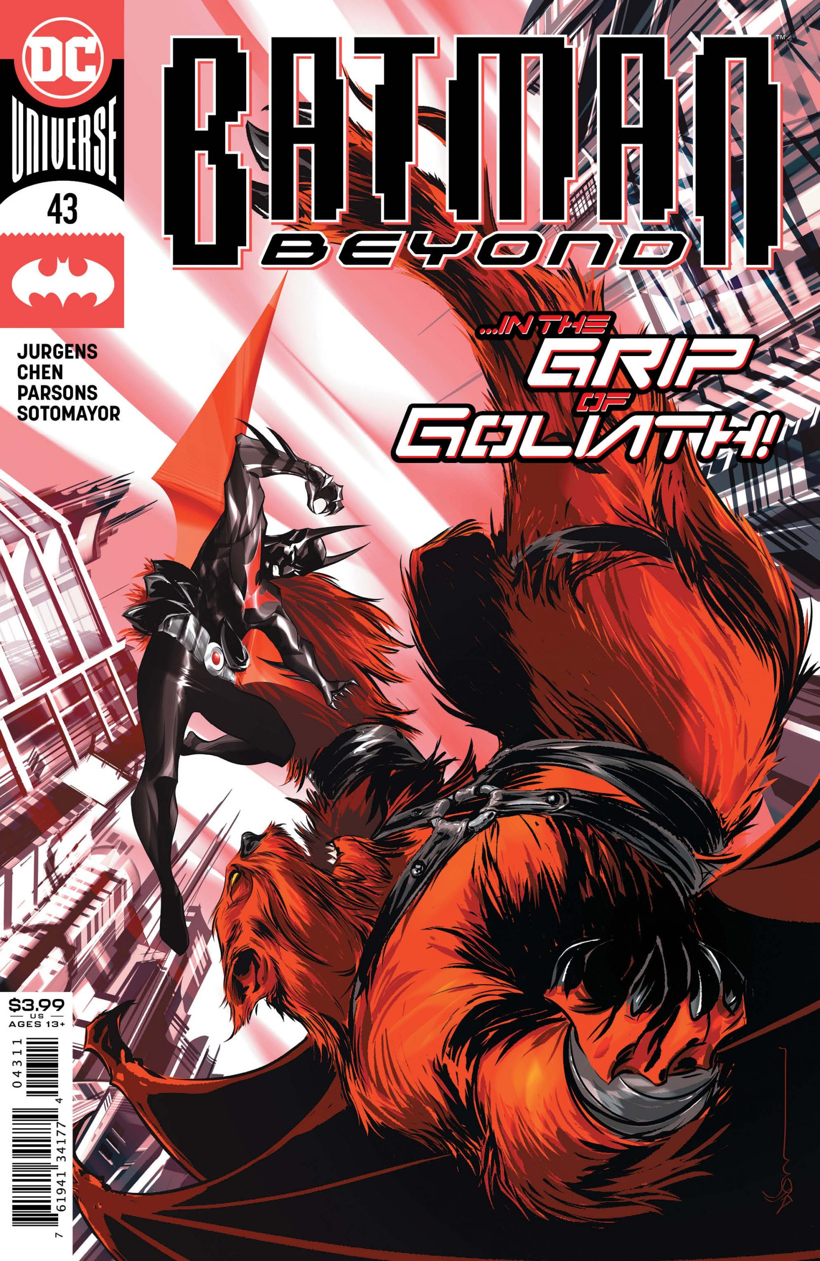 Batman Beyond #43 Cover