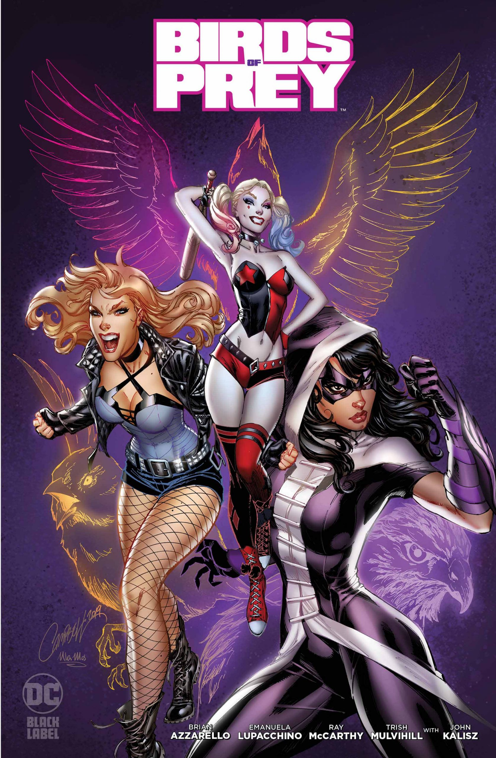 Birds of Prey #1 Variant Cover