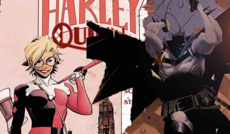 Dark Knight News Harley Quinn White Knight