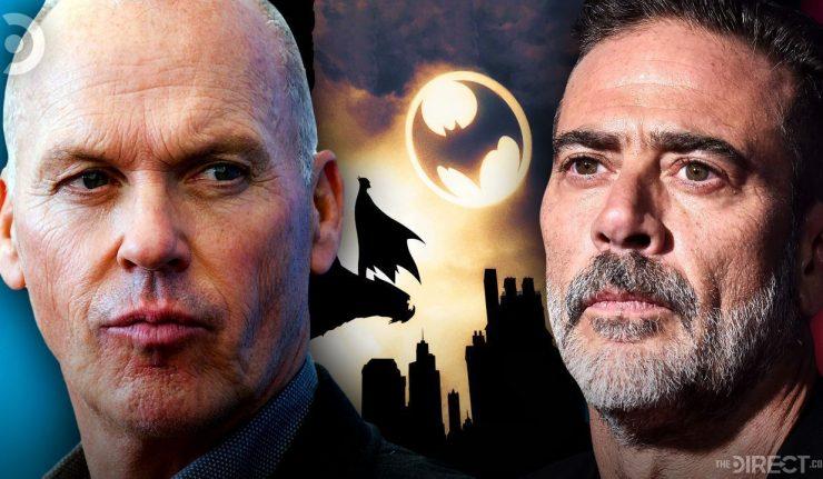 Jeffrey Deann Morgan and Michael Keaton