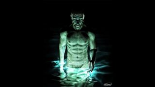 Ra's Al Ghul emerges from a Lazarus Pit