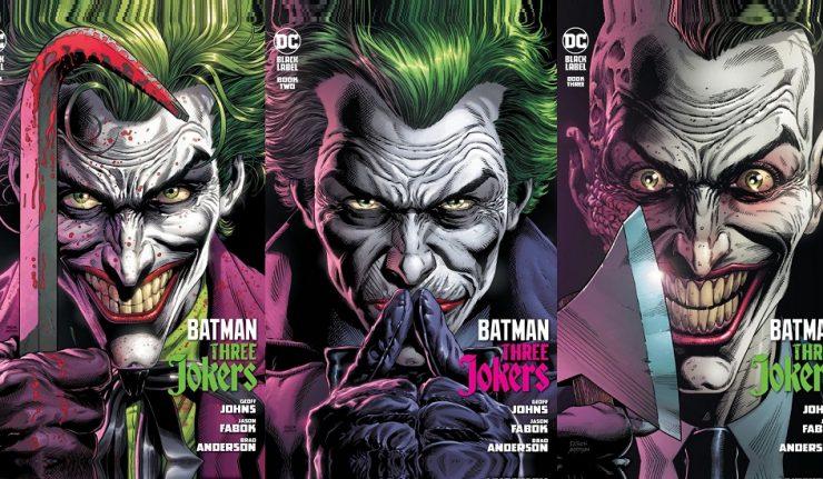 Batman: Three Jokers Banner