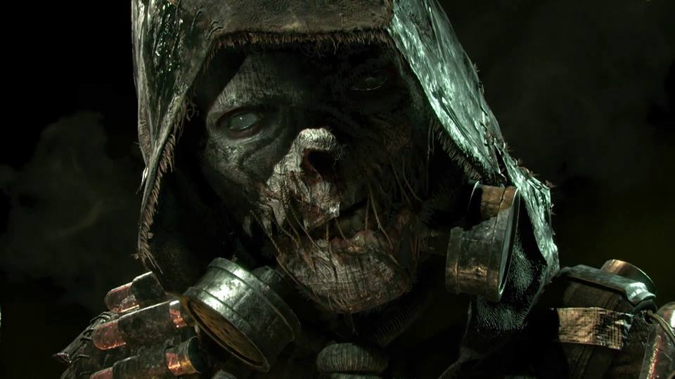 The Scarecrow in 'Batman: Arkham Knight'