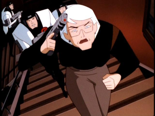 Commissioner Barbara Gordon in 'Batman Beyond'