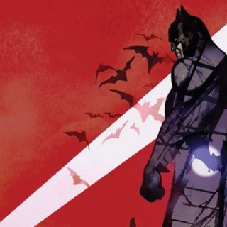 The Batman art revealed by Matt Reeves