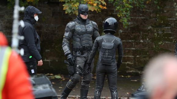 Batman and Catwoman in Liverpool