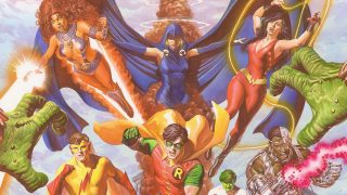 The New Teen Titans, by Alex Ross