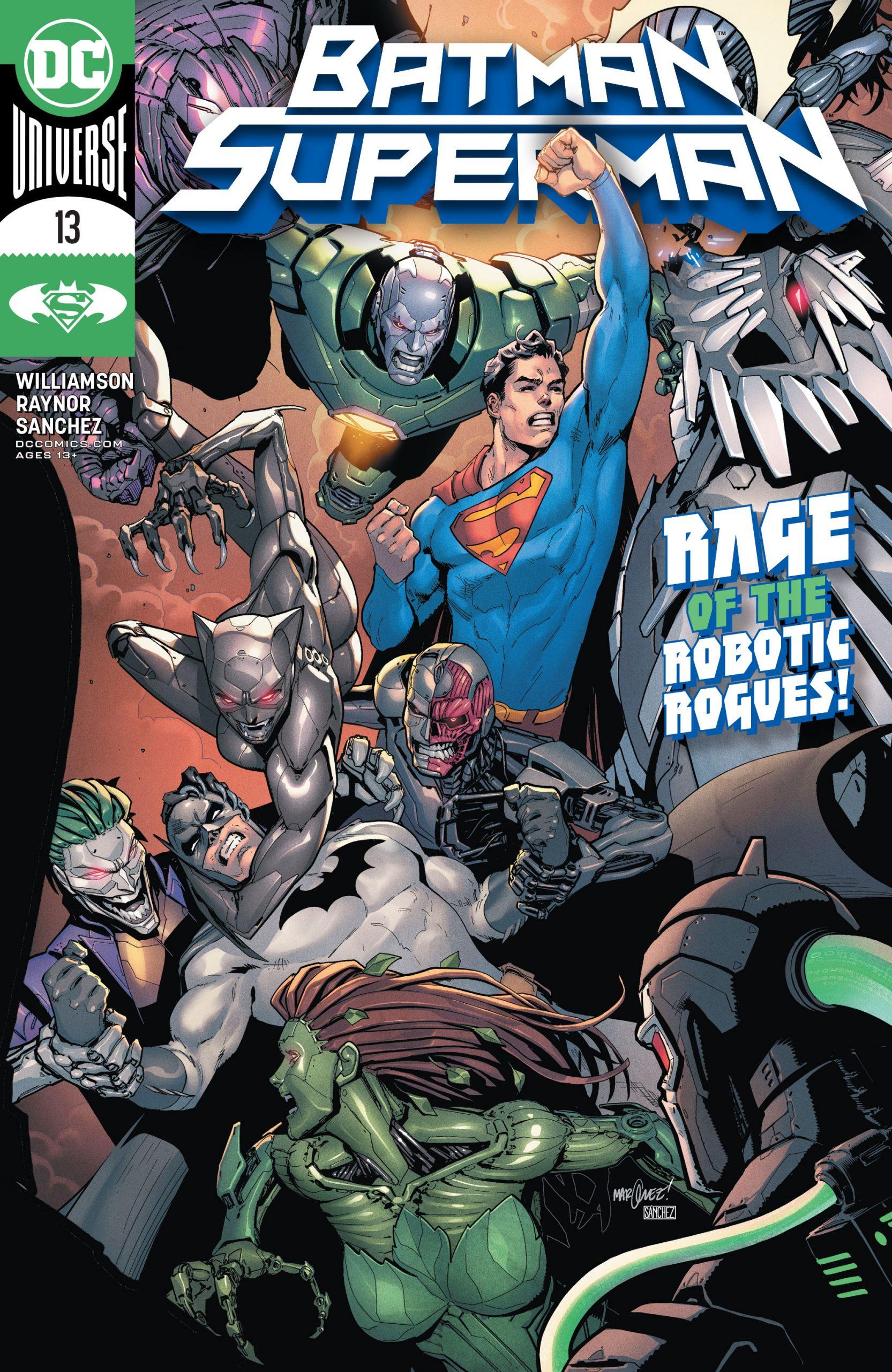 Review Batman Superman 13 Dark Knight News