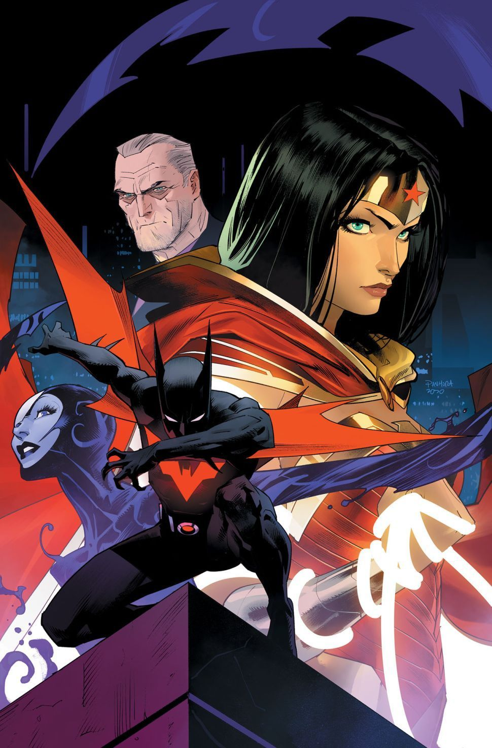 Batman Beyond Ending with issue #50